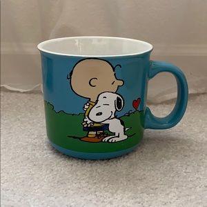 Peanuts Snoopy and Charlie Brown mug